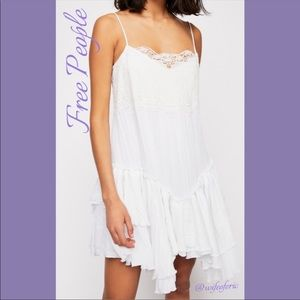"""NWT Free People """"In The City"""" Slip Dress Size L"""